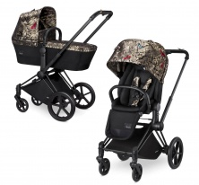 Cybex Priam Lux, Butterfly 2 в 1